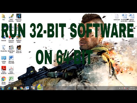 How to Run or Install 32- bit software or programme in windows 7 64- bit