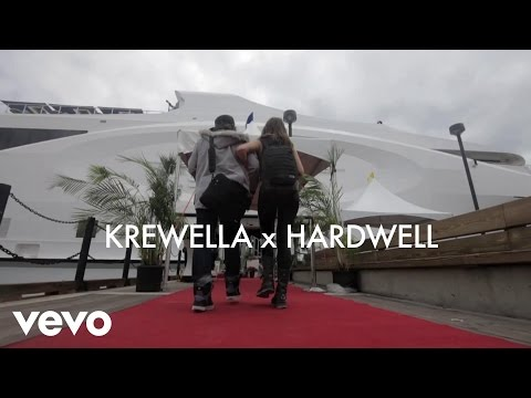 Krewella - Krewella & Hardwell Interview  (VEVO LIFT)