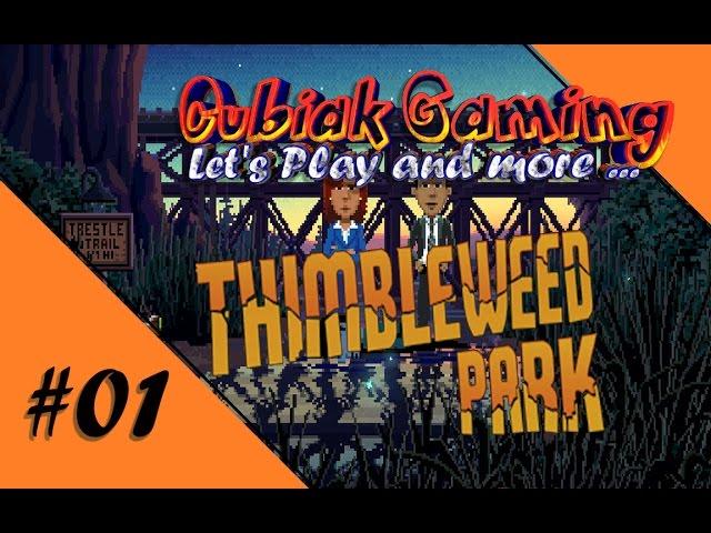 EIN MORD IN STILLER NACHT ★ Let's Play Thimbleweed Park #01
