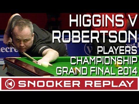 John Higgins v Jimmy Robertson - Wyldecrest Players Championship - Round One
