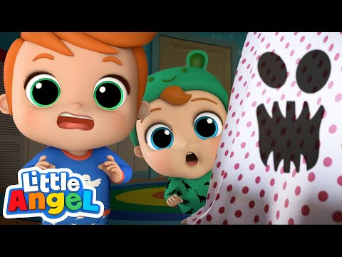 Monsters In The Dark | Little Angel Kids Songs & Nursery Rhymes