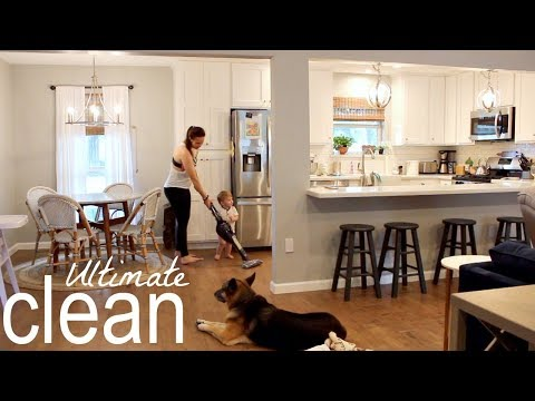 ULTIMATE CLEAN WITH ME | ALL DAY CLEANING WITH CLEANING MUSIC