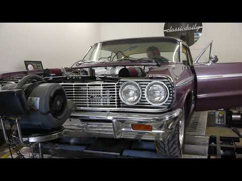 1964 Chevrolet Impala SS LSx Twin Turbo Dyno Pulls