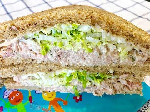 Tuna Sandwich With Mayo : Quick And Easy Recipe