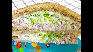 Tuna Sandwich with Mayo : Quick and Easy Recipe