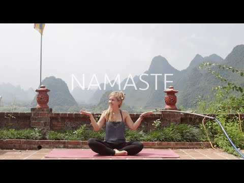 Guten Morgen Yoga Wach Motiviert In 10 Min Vietnam Pagoda