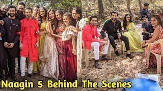 Naagin 5 Bani Jai Veer Behind The Scenes | Naagin 5 Update Telly Updates