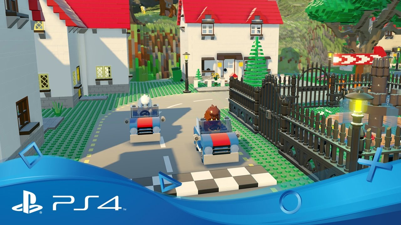 Lego Worlds Announce Trailer Ps4 Youtube