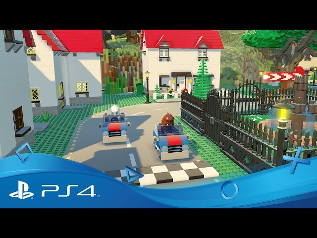 LEGO Worlds | Announce Trailer | PS4