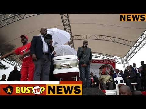 Tuku attendd Tsvangirai's funeral in Buhera