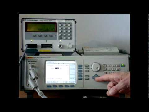 How To Calibrate A Sensor Radio Frequency And Microwave Calibrator