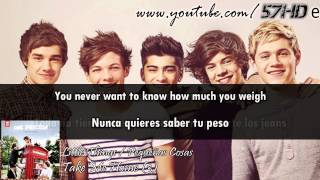 One Direction - Little Things HD Video Subtitulado Español English Lyrics