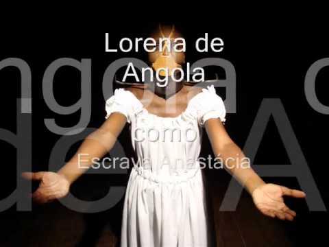 Escrava Anastácia - Espetáculo 2011 Lapa RJ