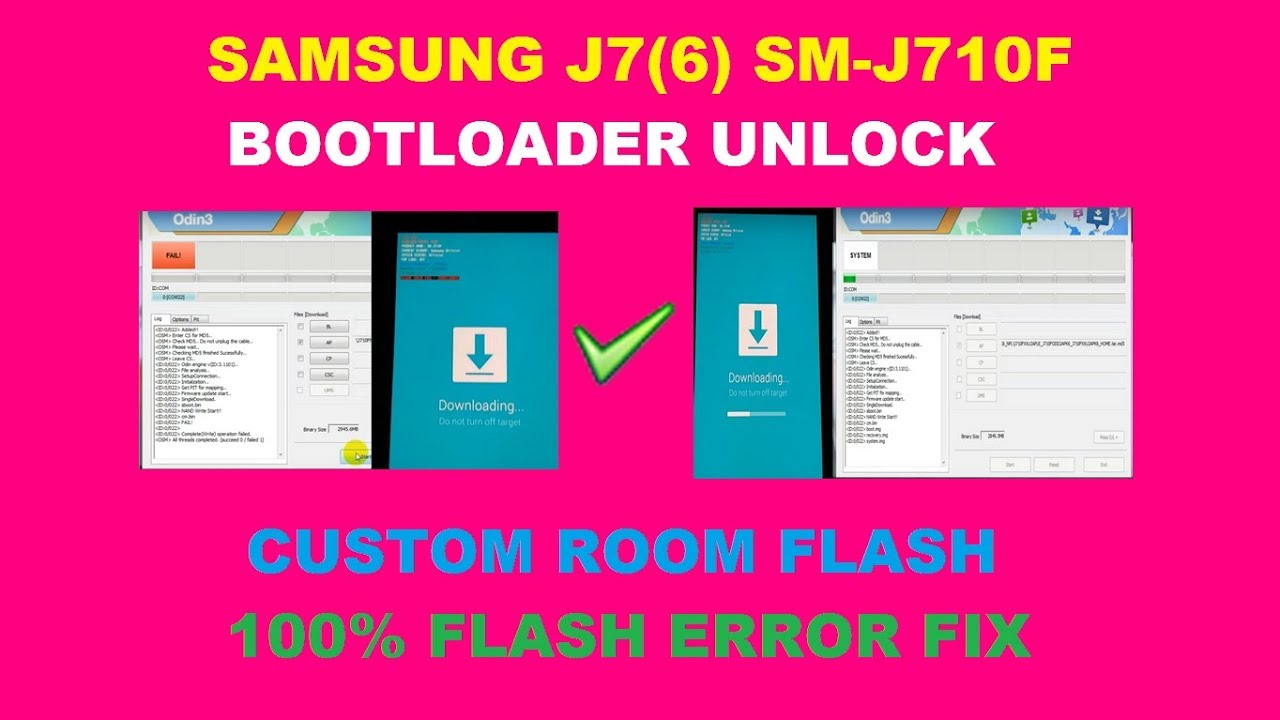 how to unlock bootloader on samsung j7 prime