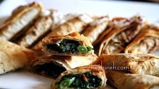 Herb Stuffed Bread Recipe by Heghineh http://heghineh.com/herb-stuf...