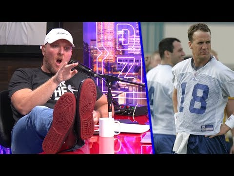 Pat McAfee Remembers HILARIOUSLY Savage Peyton Manning Story