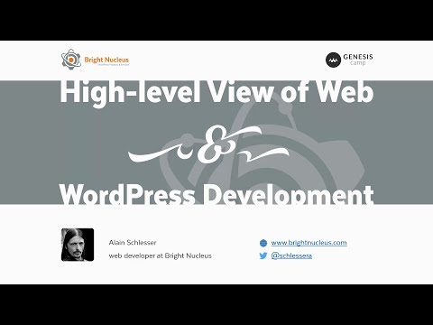 High Level View Of Web And WordPress Development