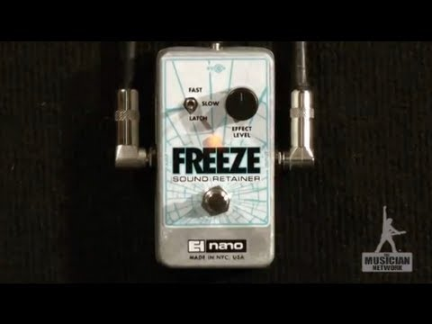 ehx freeze sound retainer guitar pedal review gearup on tmntv youtube. Black Bedroom Furniture Sets. Home Design Ideas