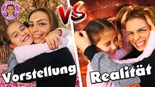 VORSTELLUNG VS. REALITÄT - Geschwister - Schwesterliebe - Mileys Welt