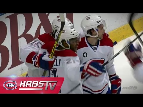 Smith-Pelly marque son premier avec les Canadiens/ Smith-Pelly beats Ellis for first Habs goal