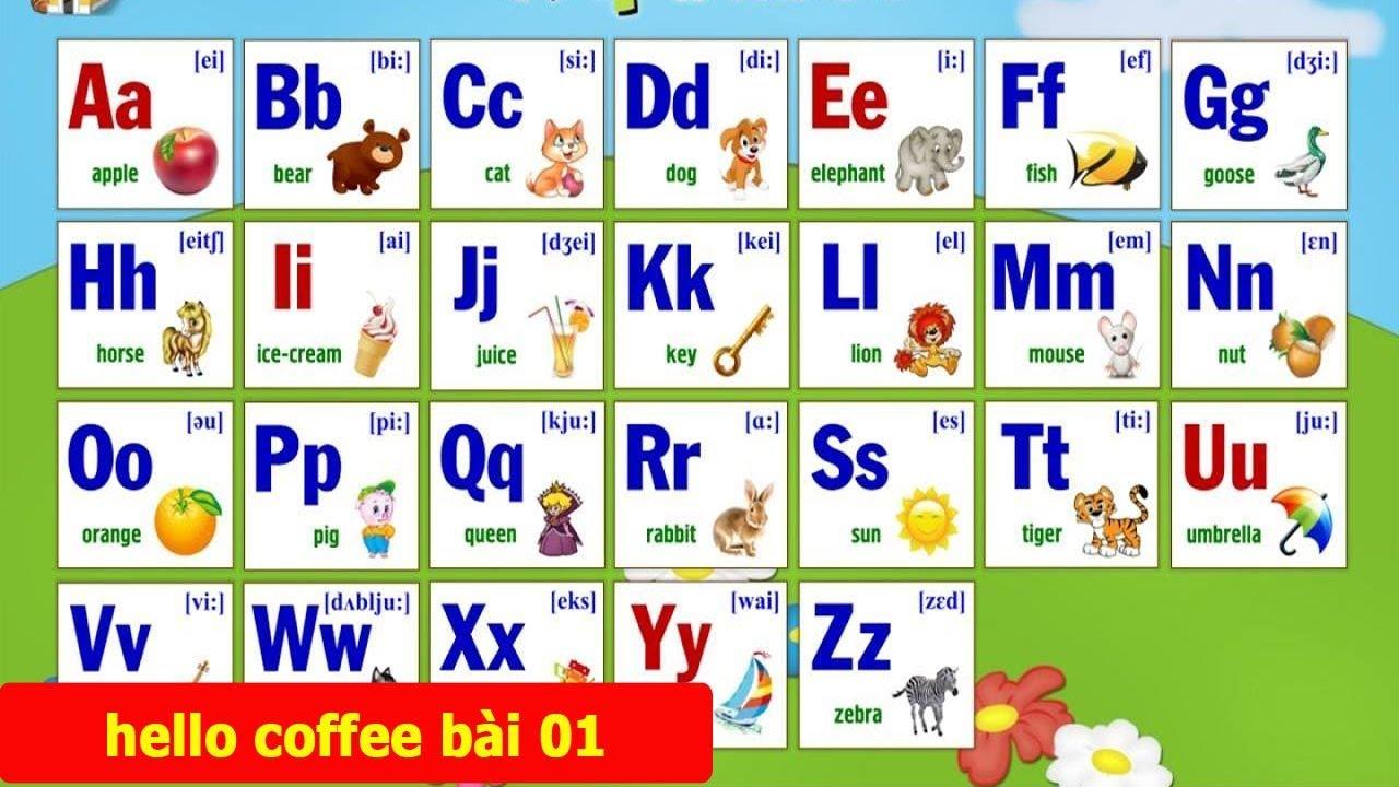 Английский алфавит для детей: буквы с произношением ...