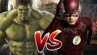 Hulk VS Flash | Who Wins?