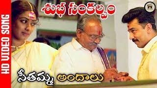 Seethamma Andhalu Video song | Subha Sankalpam Songs | Kamal Haasan, Aamani | Home Theatre