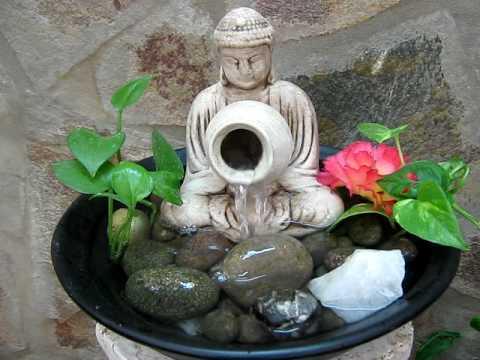 Fuente de agua feng shui buda 395 avi youtube for Fuente agua feng shui