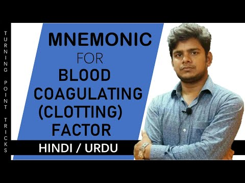 TRICK FOR BLOOD COAGULATING( CLOTTING ) FACTORS