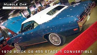 Muscle Car Of The Week Video #76: 1970 Buick GS Stage 1 Convertible