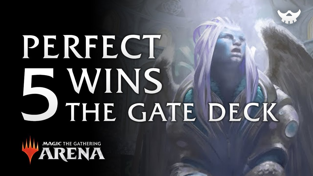 Competitive Draft Guilds of Ravnica #14: 5 Wins The Gate Deck Magic the  Gathering Arena MTG