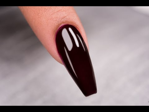 ❤ Chit Chat  Coffin Shape Sculptured Nail  How To  Tammy Taylor