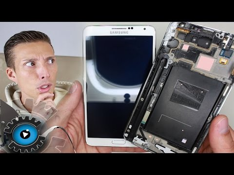 Samsung Galaxy Note 3 Glas Display Wechseln Tauschen Reparatur [Deutsch] Teardown