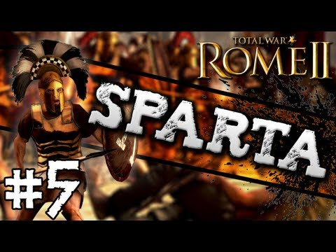 Total War: Rome II: Sparta Campaign #5 ~ Siege of Athens!