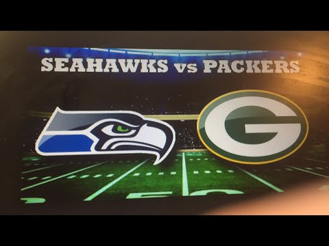 SEAHAWKS VS PACKERS LIVE!!