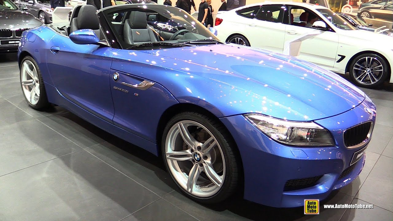 2016 Bmw Z4 Sdrive 20i Exterior And Interior Walkaround
