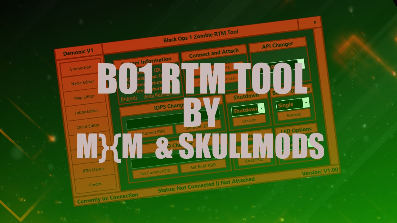 The Beast BO1 RTM Tool Demonic Tool