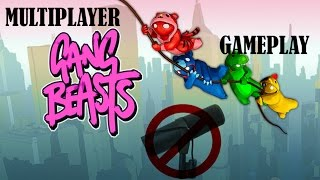 Gang Beasts - Multiplayer Gameplay v0.5 - No Commentary!
