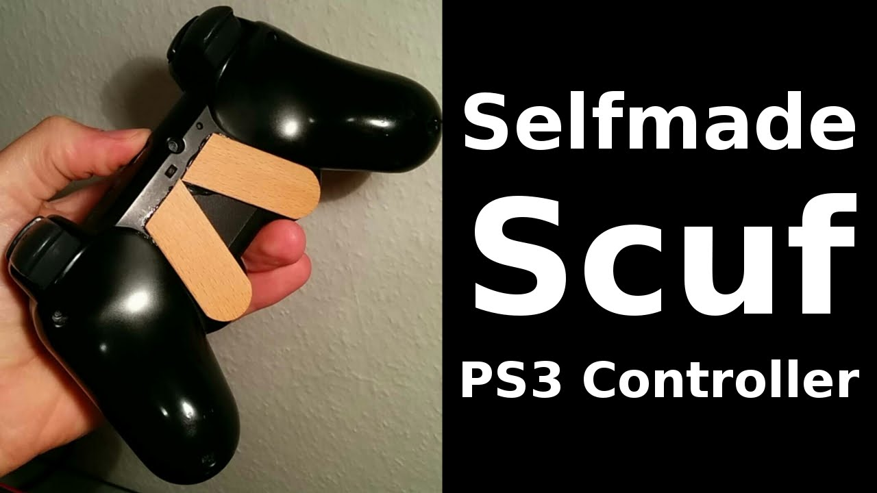 Selfmade Scuf Ps3 Controller Youtube