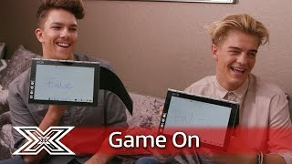 Game On with Lenovo | The contestants play a game of True or False.