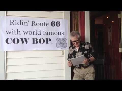 Route 66 Sings Route 66! (Cow Bop Road Tour 2014)