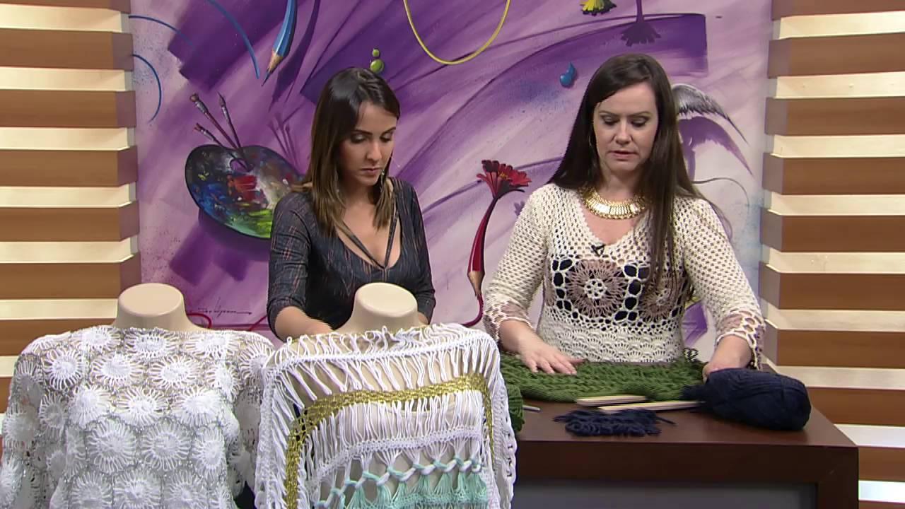 Mulher.com - 13 07 2016 - Gorro beanie e cachecol em crochê de grampo - Helen  Mareth PT1 - YouTube f12e481c44b