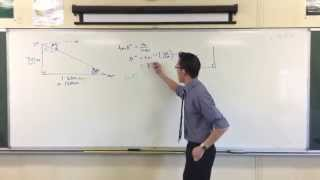 Finding Unknown Angle with Trigonometry: Example 2
