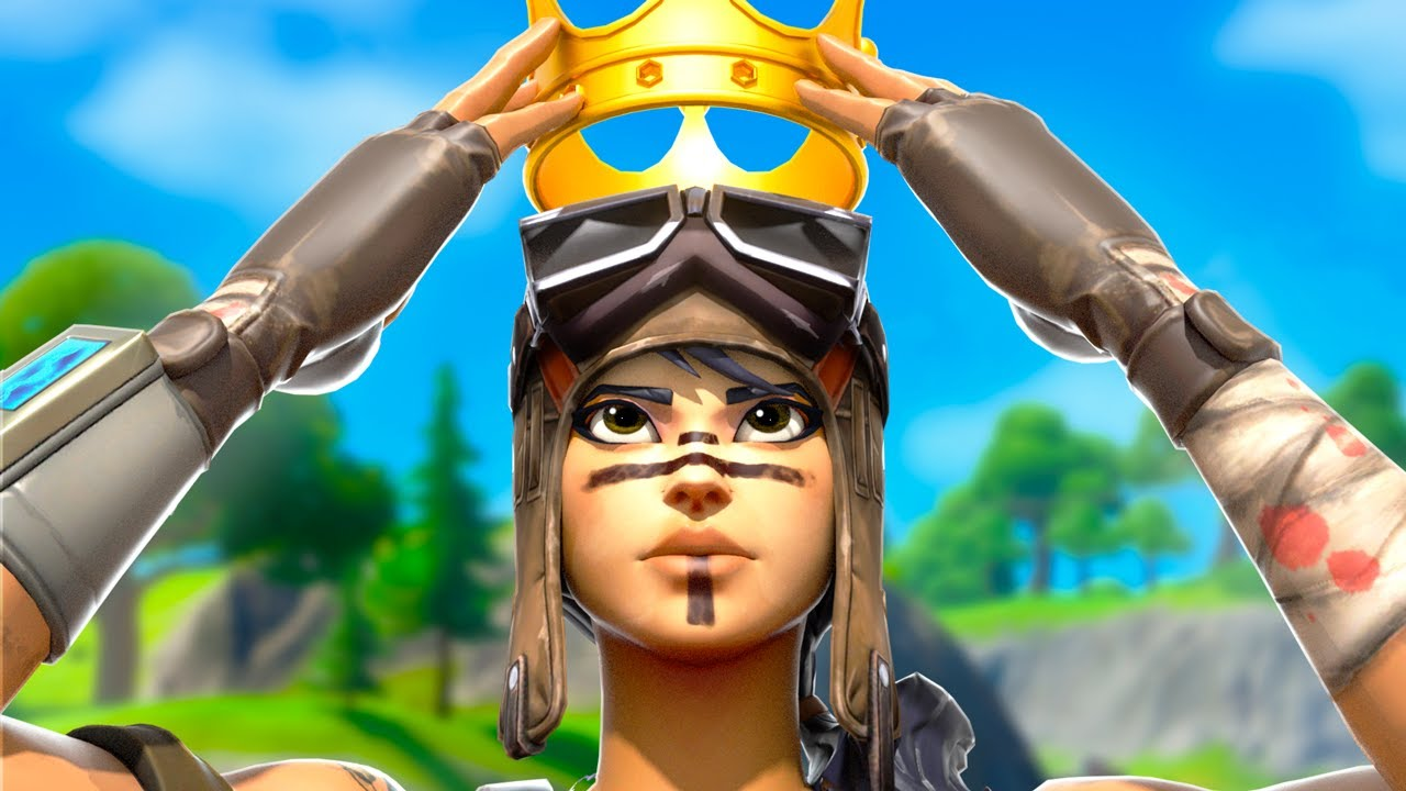I STREAM SNIPED FASHIONS ONLY USING RENEGADE RAIDER (YOUNGEST SQUAD) !!