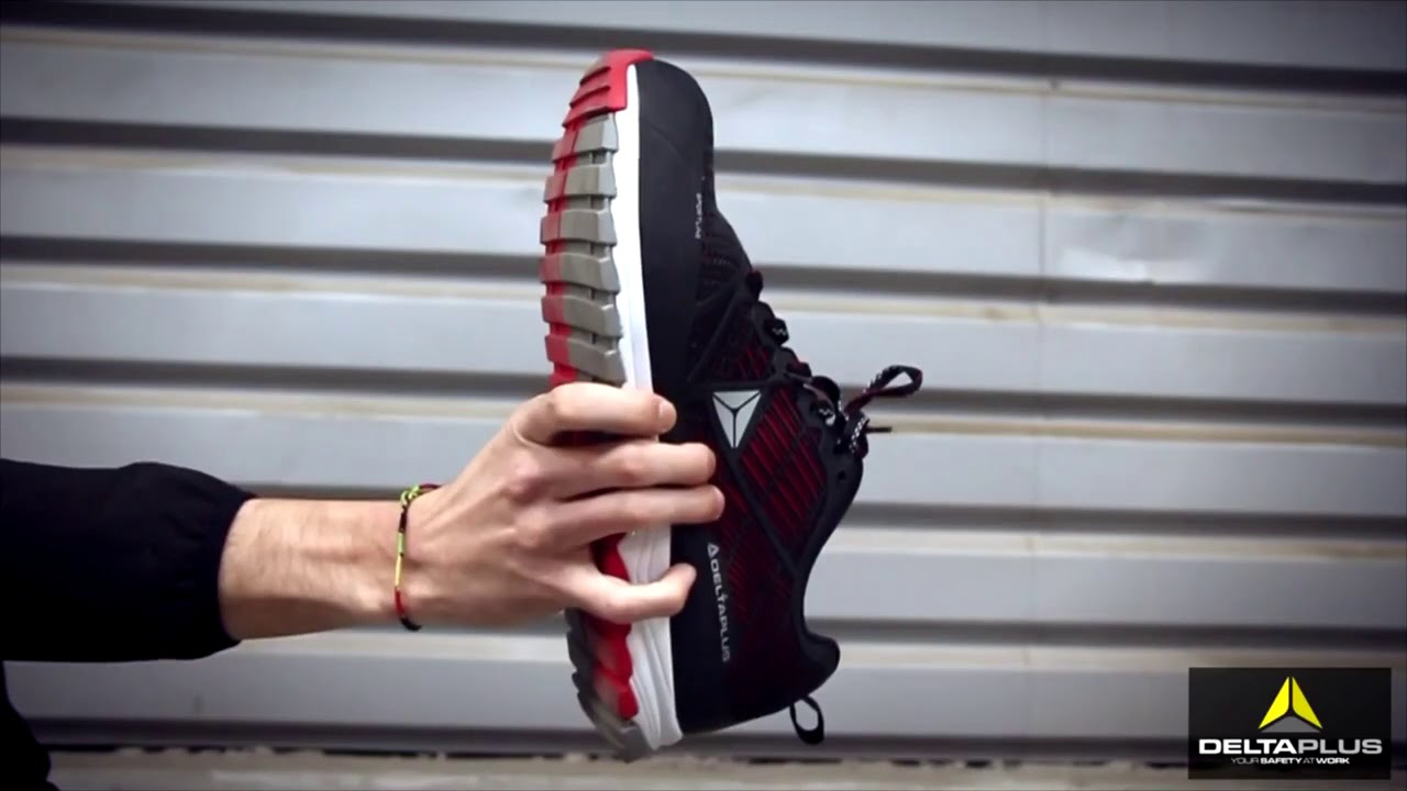 fc7ae9afd48 Delta Sport S1P safety shoes - YouTube