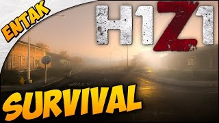H1z1 Gameplay ➤ Basics: Crafting A Bow, Campfire, & Bow Drill - Beginner Survival [part 2]