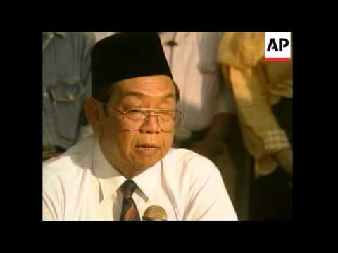 INDONESIA: PRESIDENT WAHID TO ANNOUNCE NEW CABINET