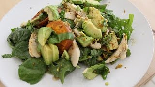 How To Make A Sweet Potato And Avocado Salad
