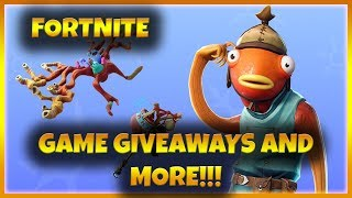 Fortnite with Subs!!! Game Giveaways and More!!!