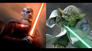 Versus Series: Darth Malak Vs. Yoda
